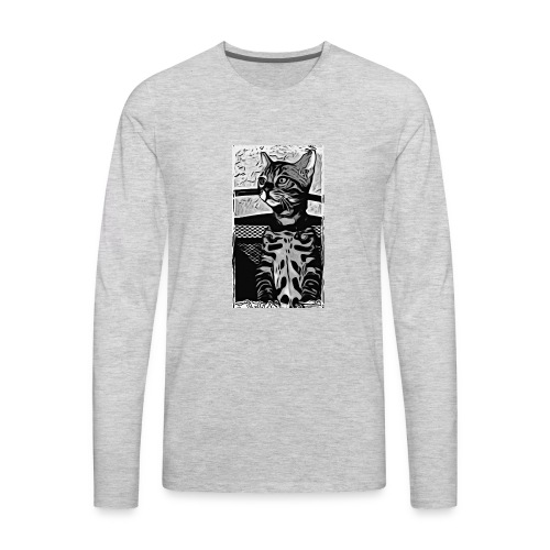 Simbas sunset - Men's Premium Long Sleeve T-Shirt