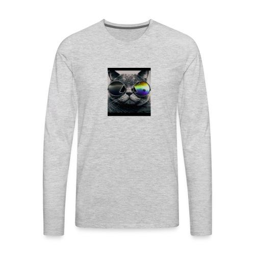 BlueRiderGr Test T-Shirt - Men's Premium Long Sleeve T-Shirt