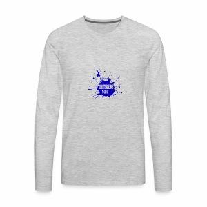 create reasons to laugh - Men's Premium Long Sleeve T-Shirt