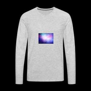 galaxy scene 1048 5105 - Men's Premium Long Sleeve T-Shirt