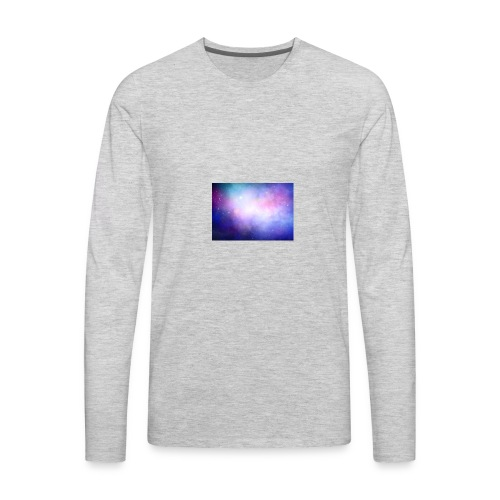 galaxy scene 1048 5105 - Men's Premium Long Sleeve T-Shirt
