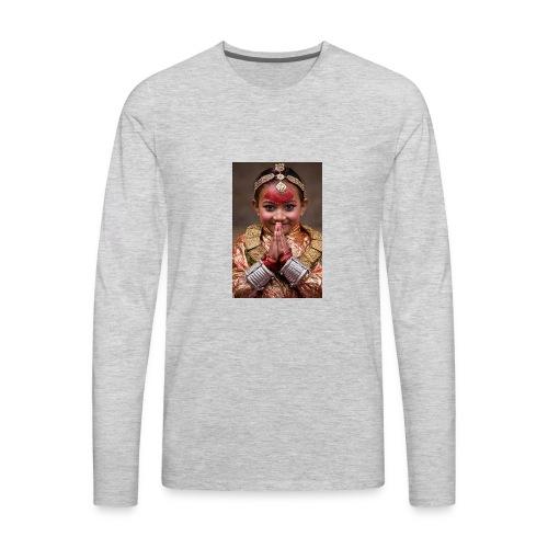 namaste - Men's Premium Long Sleeve T-Shirt