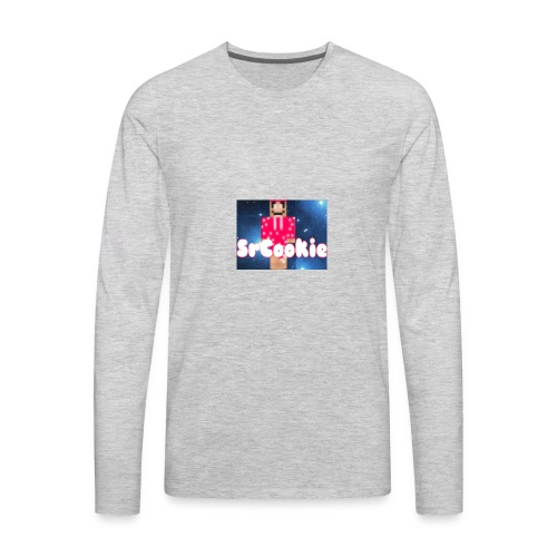 SrCookie Merches - Men's Premium Long Sleeve T-Shirt