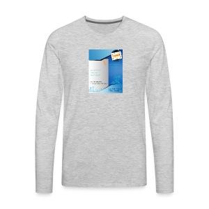 saiyan flyer - Men's Premium Long Sleeve T-Shirt
