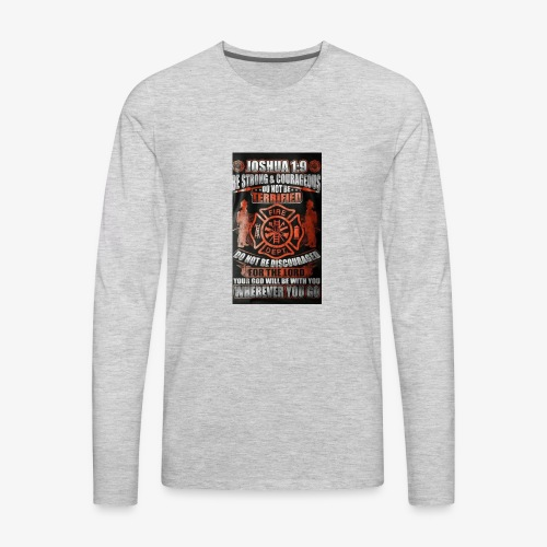 Be strong - Men's Premium Long Sleeve T-Shirt