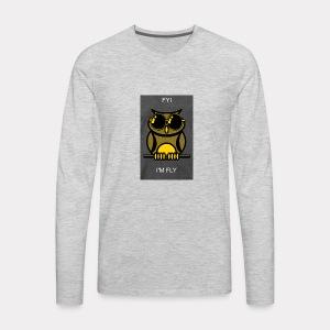 Fly Owl - Men's Premium Long Sleeve T-Shirt