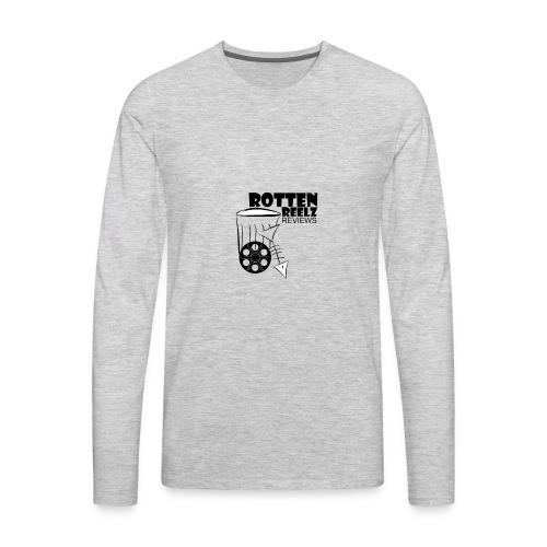 Rotten Reelz Logo - Men's Premium Long Sleeve T-Shirt