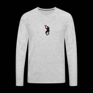 Love & Basketball Memoirs of Life - Men's Premium Long Sleeve T-Shirt
