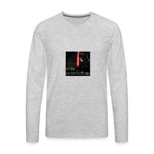 darthman avatar bg 2 - Men's Premium Long Sleeve T-Shirt