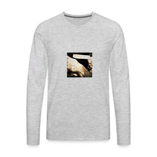 HUSTLE HOUSE - Men's Premium Long Sleeve T-Shirt