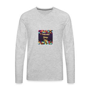 Primordial Beings Blog - Men's Premium Long Sleeve T-Shirt