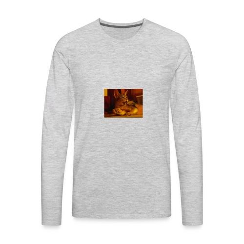 Wow you scared me!!!! - Men's Premium Long Sleeve T-Shirt
