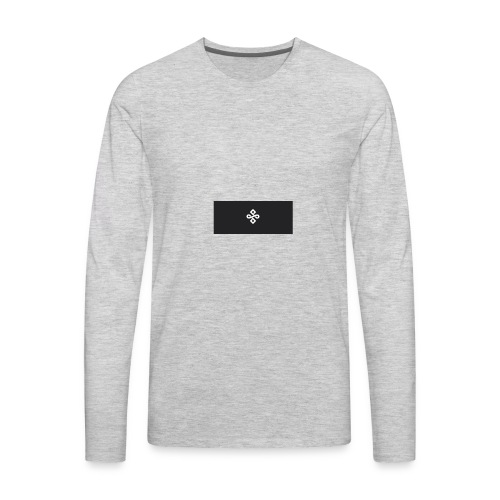 buddhism logo - Men's Premium Long Sleeve T-Shirt