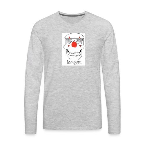 Dominate skull - Men's Premium Long Sleeve T-Shirt