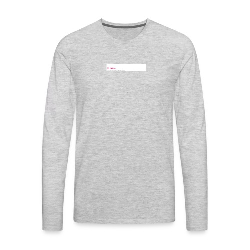 mpb - Men's Premium Long Sleeve T-Shirt