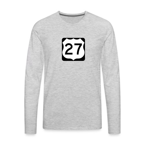 27 Mathew vlogs - Men's Premium Long Sleeve T-Shirt