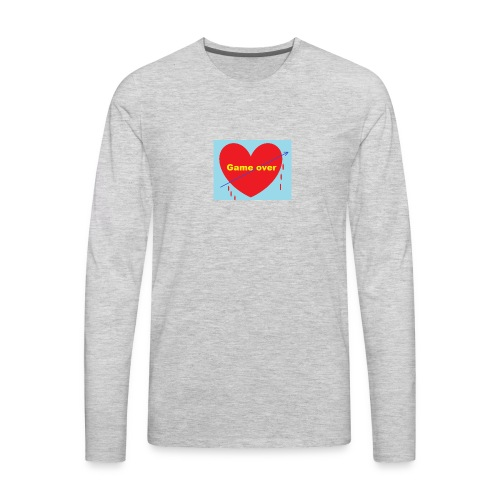 The end in love - Men's Premium Long Sleeve T-Shirt