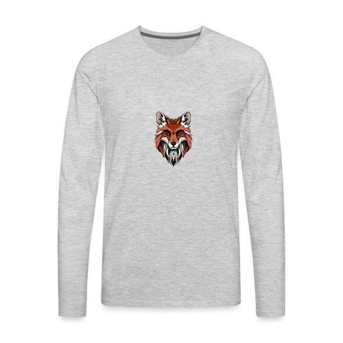 THE FOX - Men's Premium Long Sleeve T-Shirt