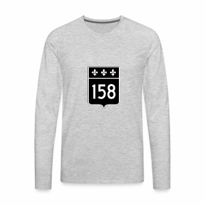 route 158 - Men's Premium Long Sleeve T-Shirt
