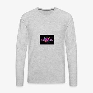 addicted - Men's Premium Long Sleeve T-Shirt