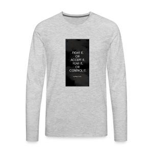 FIGHT IT - Men's Premium Long Sleeve T-Shirt
