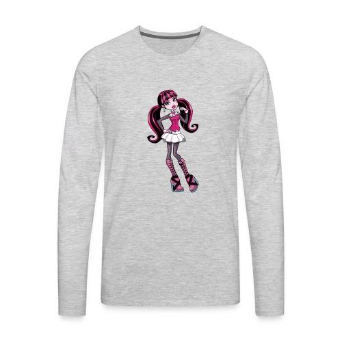 amazing draculaura shirt - Men's Premium Long Sleeve T-Shirt