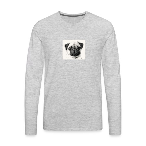 Pugs - Men's Premium Long Sleeve T-Shirt