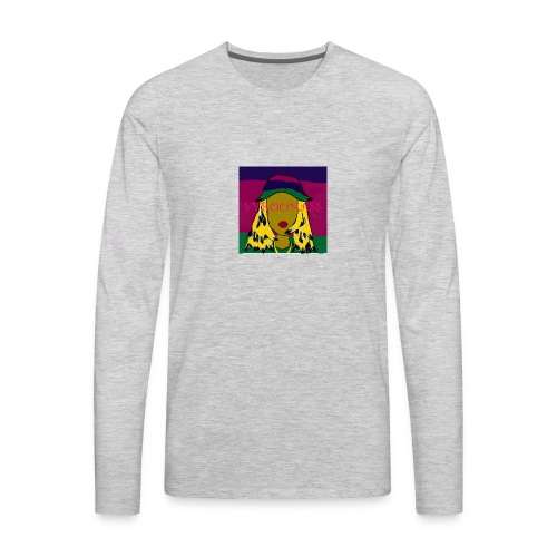 Laid Back Shawty - Men's Premium Long Sleeve T-Shirt