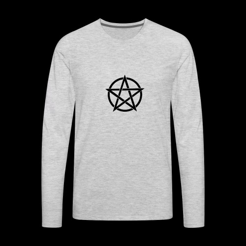 Witches Brew Ejuice Pentagram - Men's Premium Long Sleeve T-Shirt
