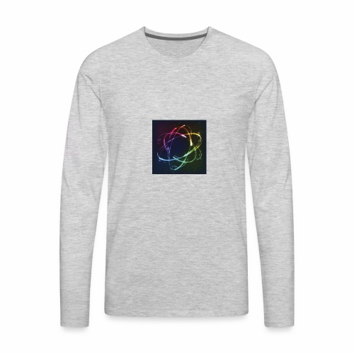 super atomic #2 - Men's Premium Long Sleeve T-Shirt