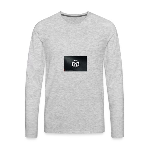 M logo - Men's Premium Long Sleeve T-Shirt