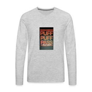 Puff puff pass - Men's Premium Long Sleeve T-Shirt