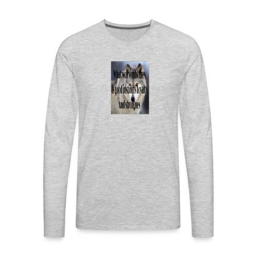 The meaning merch - Men's Premium Long Sleeve T-Shirt