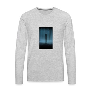 Creepy Forest Person - Men's Premium Long Sleeve T-Shirt