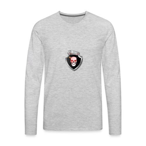 DeathKnightLogo - Men's Premium Long Sleeve T-Shirt