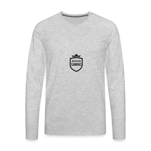 ARCSHOCK GAMING Small Logo T-shirt - Men's Premium Long Sleeve T-Shirt