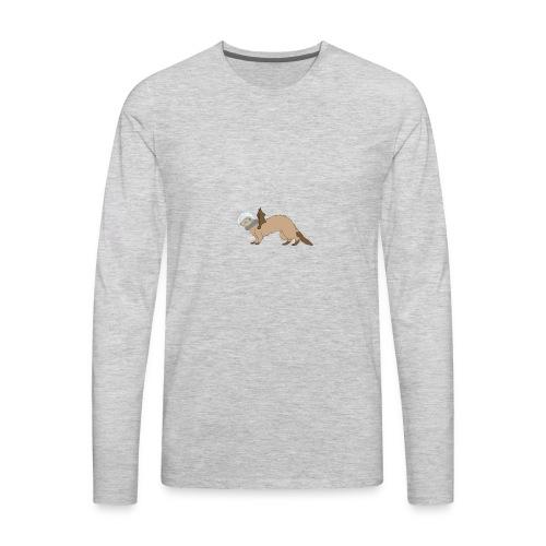imageedit 3 4260521501 - Men's Premium Long Sleeve T-Shirt