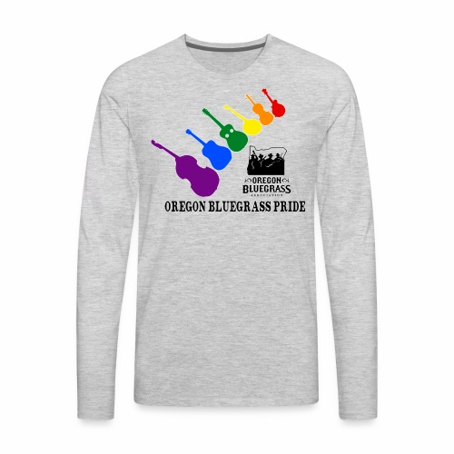Oregon Bluegrass Pride - Men's Premium Long Sleeve T-Shirt