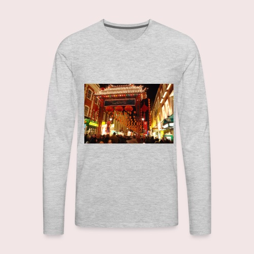CNY Nights - Men's Premium Long Sleeve T-Shirt