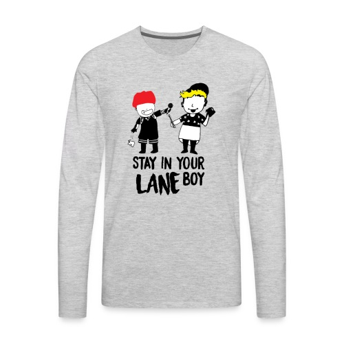 Funny Boys - Men's Premium Long Sleeve T-Shirt