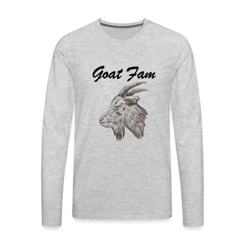 Goat Fam - Men's Premium Long Sleeve T-Shirt