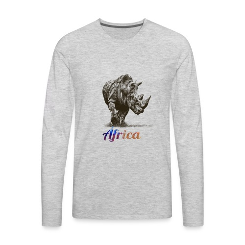 Say NO TO INDISCRIMINATED HUNT - Men's Premium Long Sleeve T-Shirt