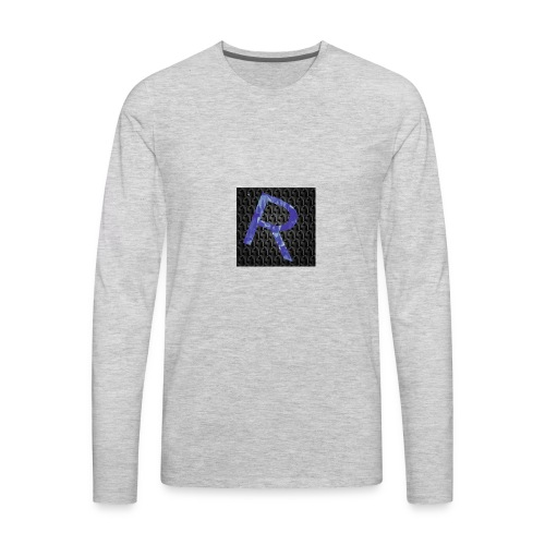 youtubelogo - Men's Premium Long Sleeve T-Shirt