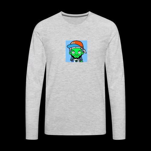 Rapper mixtape bloods gang - Men's Premium Long Sleeve T-Shirt