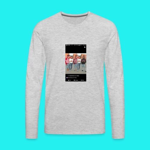 Petty Mona - Men's Premium Long Sleeve T-Shirt