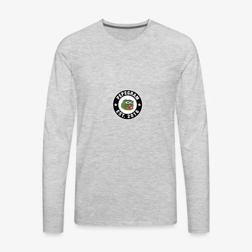 PepeGramApp - Men's Premium Long Sleeve T-Shirt