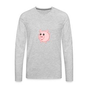 Pigs for life - Men's Premium Long Sleeve T-Shirt