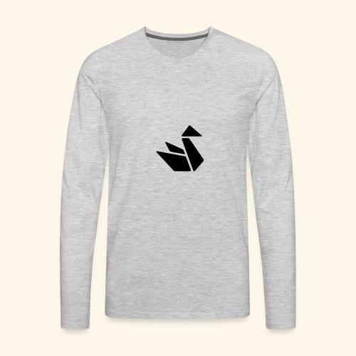 Swan Merch - Men's Premium Long Sleeve T-Shirt
