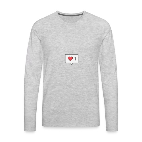 1 love - Men's Premium Long Sleeve T-Shirt