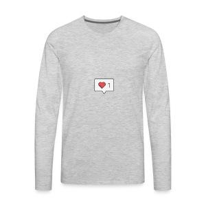 1 love - Men's Premium Long Sleeve T-Shirt